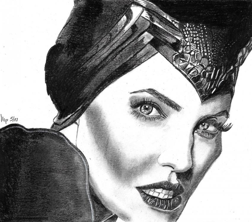 Angelina Jolie par patrick